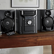 5-CD Changer with Cassette & AM/FM Radio by Sharp