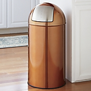 13-Gallon Stainless Steel Trash Can