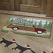 woody wonderland indoor outdoor mat   20  x 30