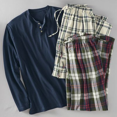 Men's 3-Piece Reece Pajama Set