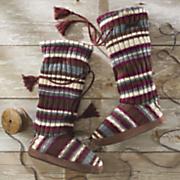 grace  tie slipper  by muk luks