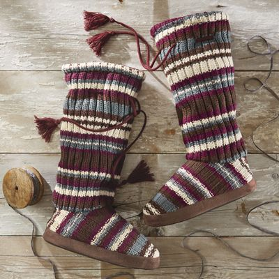 Grace Tie Slipper by Muk Luks<sup class='mark'>&reg;</sup>
