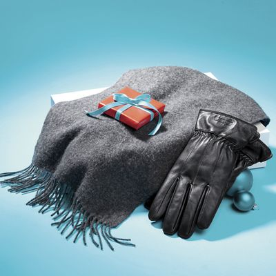 Men's Scarf and Glove Set by Stacy Adams