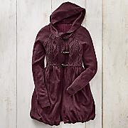 Hooded Toggle Sweater Jacket