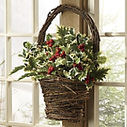 Holly Basket