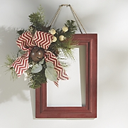 Red/White Window Frame