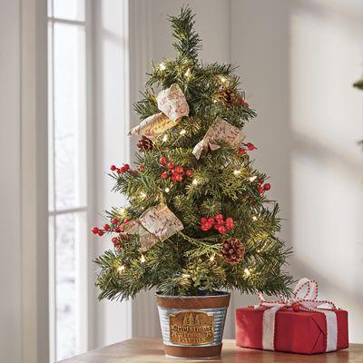 Christmas Tree Farm Mini Tree