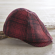 Men's Wool Plaid Cap by Woolrich