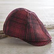 Men's Wool Plaid Cap by Woolrich