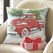 Holiday Drive Pillow