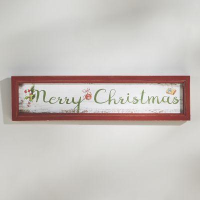 Merry Xmas Plaque