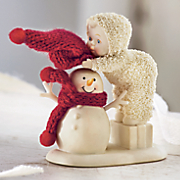 Top It Off Snowbabies Figurine by Department 56