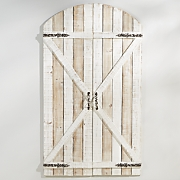 Set of 2 Whitewash Gates