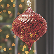 Lighted Twill Ornament