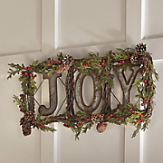 Joy Floral Wreath