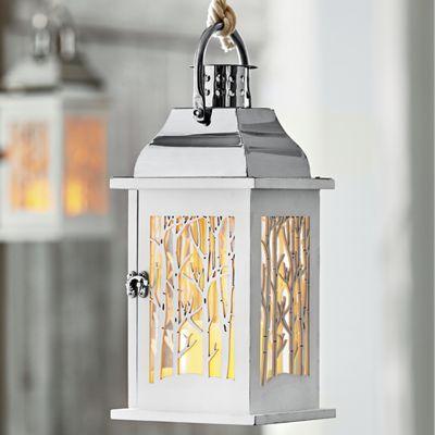 Winter Forest Lantern