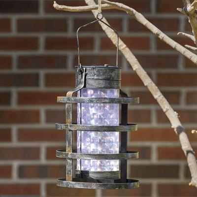 Round Metal Ring Lantern