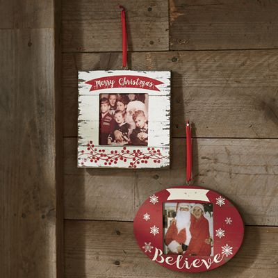Set of 2 Christmas Frames