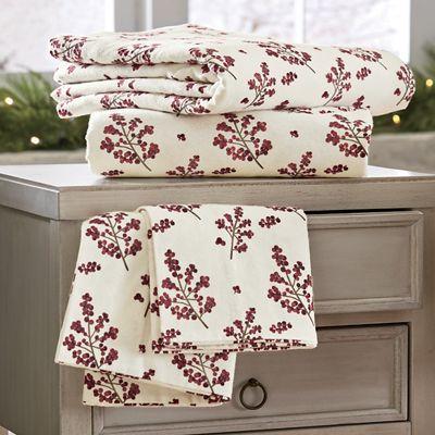 Bittersweet Cotton Flannel Sheets
