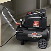 6 gallon oil free air compressor by briggs   stratton
