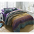 Leopard Ombre Complete Bed Set
