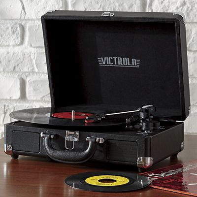 Vintage Suitcase Turntable with Bluetooth by Victrola