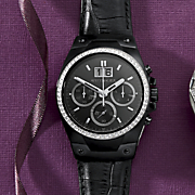 Men's Crystal Chrono Watch by Wittnauer