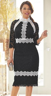 Romina Lace Dress