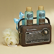 4-Piece Radio Bath Set