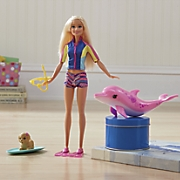 dolphin magic barbie by mattel