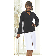 quiana sweater and leanna skirt