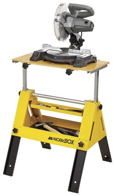 Convertible Toolbox to Workstand by Workbox