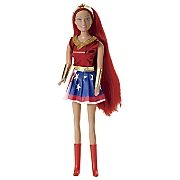 set of 4 super hero dolls