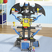 imaginext dc super friends transforming batcave playset by fisher price