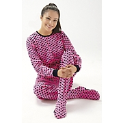 Polka Dot Footie Pajamas