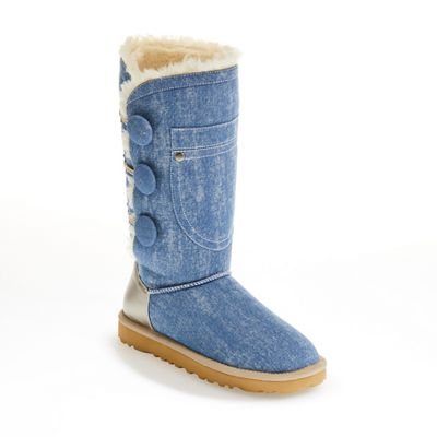 Stonewash Denim Boot by Ginny's
