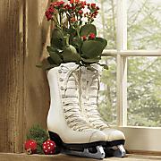 Ice Skate Planter
