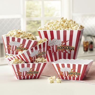 Melamine Popcorn Set