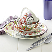 Paisley Fiorina Dinnerware Set