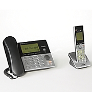 2 Handset Corded/Cordless Phone System by Vtech