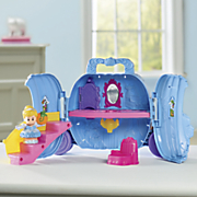 little people cinderella fold  n go carriage by fisher price