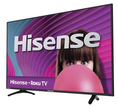 "40"" LED Roku-Ready TV by Hisense"