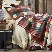 ridge plaid quilt