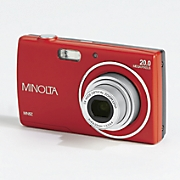 20 mp hd digital camera with 5x optical zoom by minolta