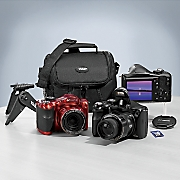 18.1 MP 40X Optical Zoom Digital Camera Bundle with Built-In Wi-Fi by Polaroid