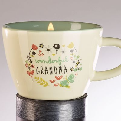Family Candle Teacup