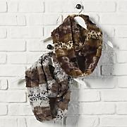 safari animal print neckwear