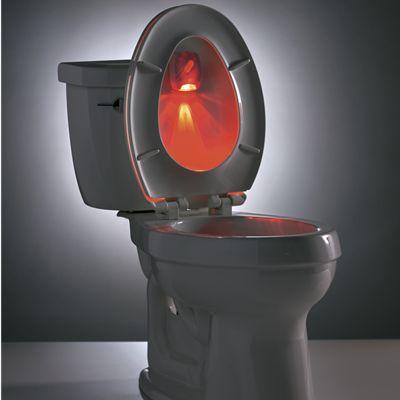 Bright Lid Toilet Light