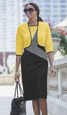 Cheryl Jacket Dress