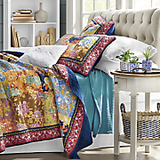 Fauna Oversized Quilt and Sham